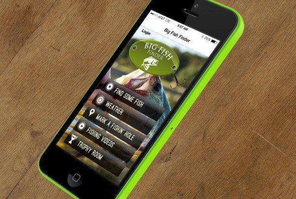 Big Fish Finder iPhone App