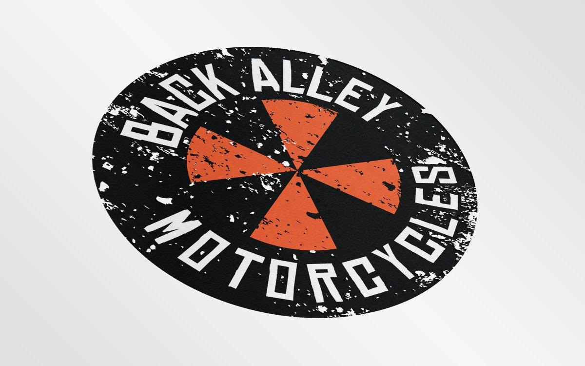 Back Alley Motorcycles Logo Design