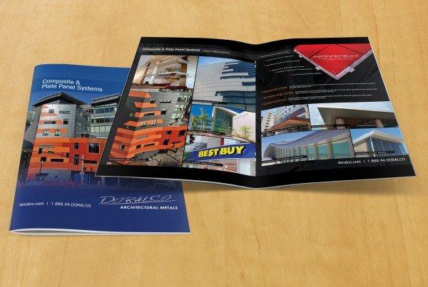 doralco composite and plate panel brochure-design