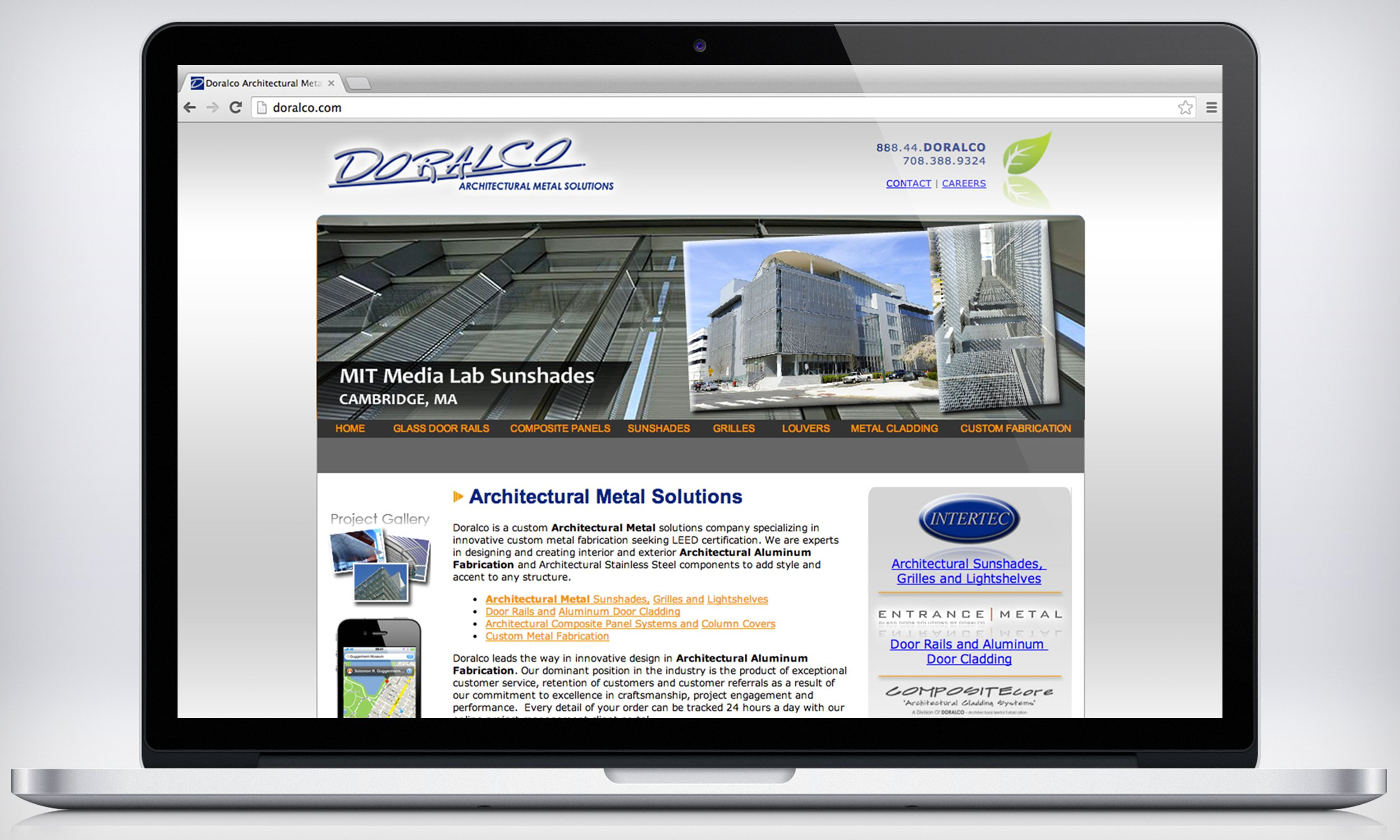 Doralco Website Design