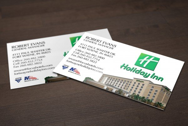 Holiday Inn Business Card
