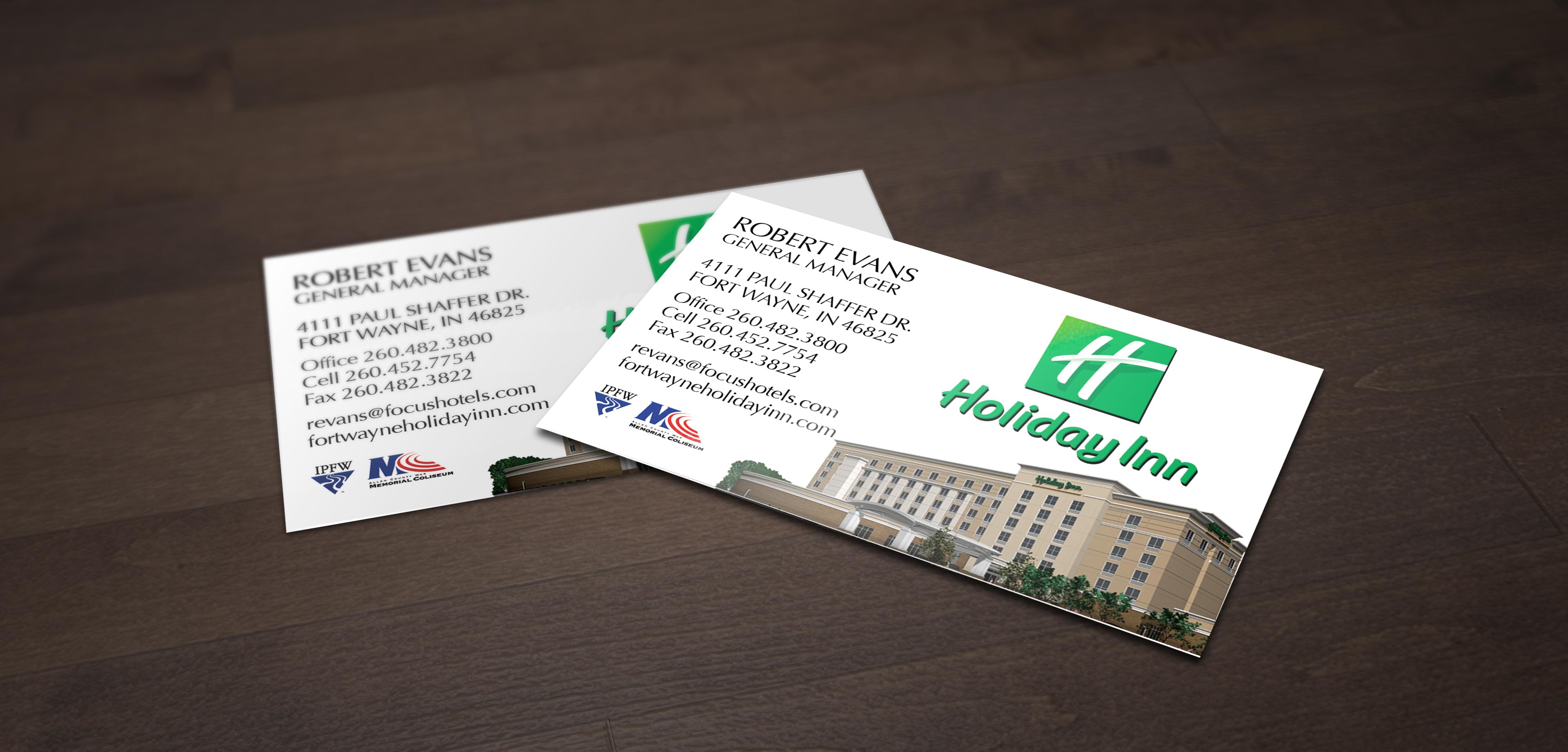 Holiday Inn Business Card