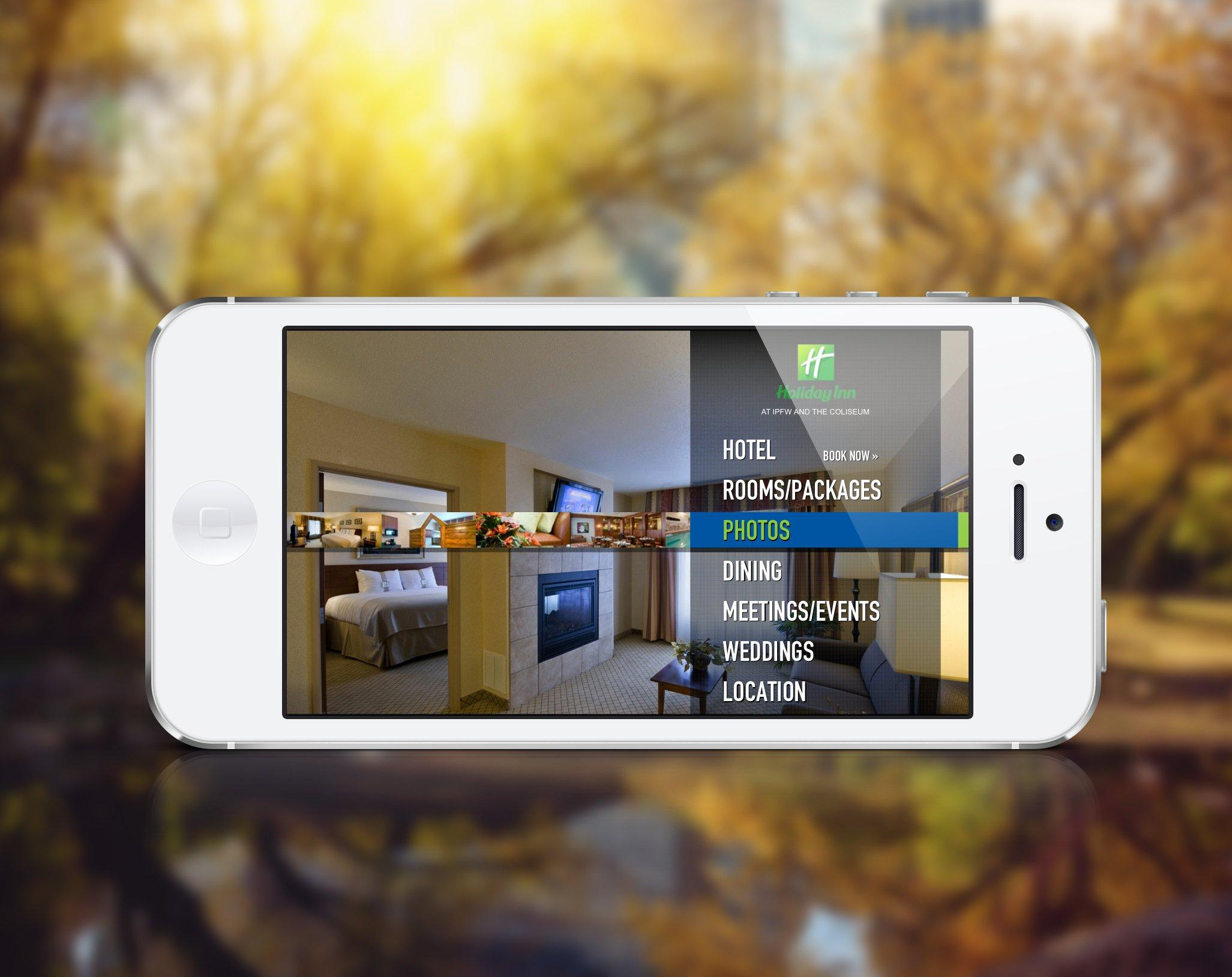 Holiday Inn Mobile Website
