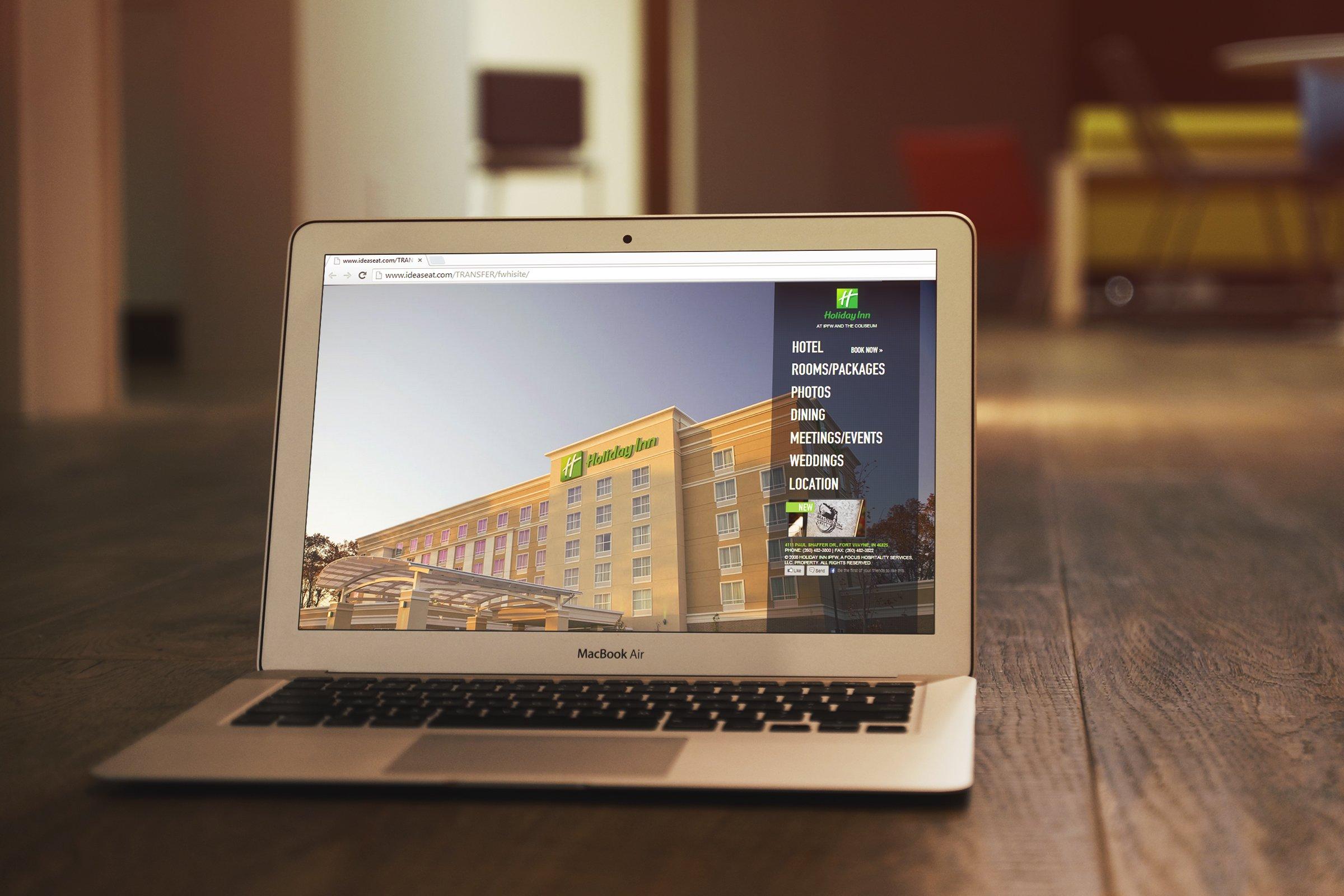 Holiday Inn Fort Wayne Website Design