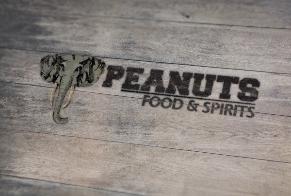 Peanuts Food and Spirits Logo Design