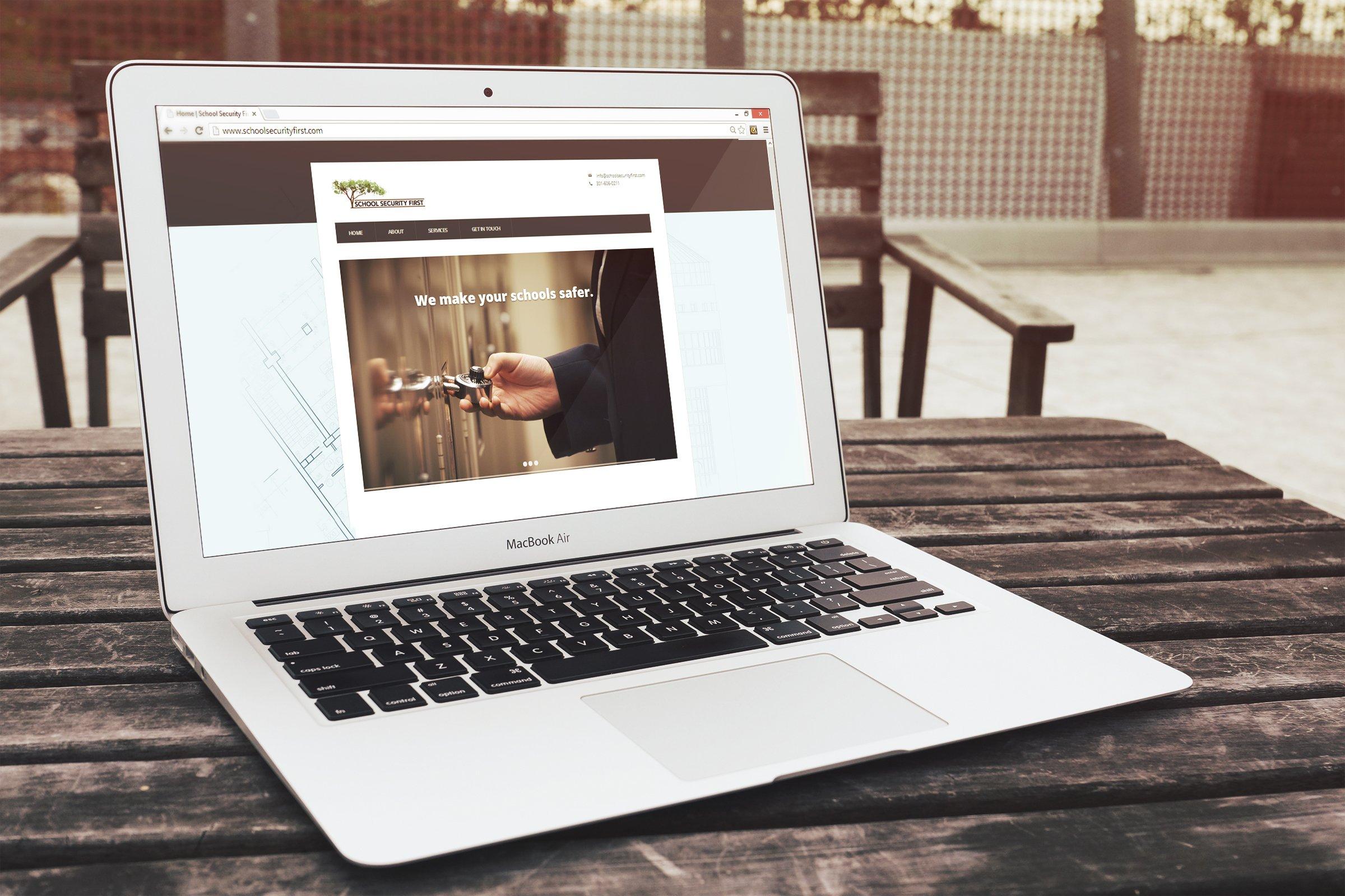 School Security First Website Design