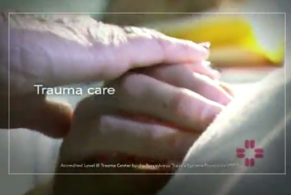 Pocono Medical Center – Trauma Center Television Commercial