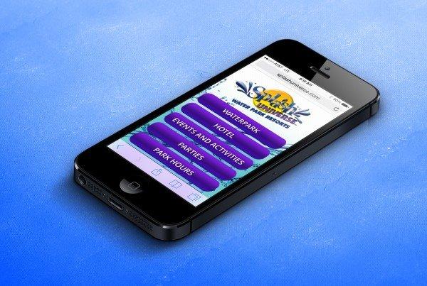 Splash Universe Mobile Site