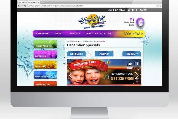 Splash Universe Website Design
