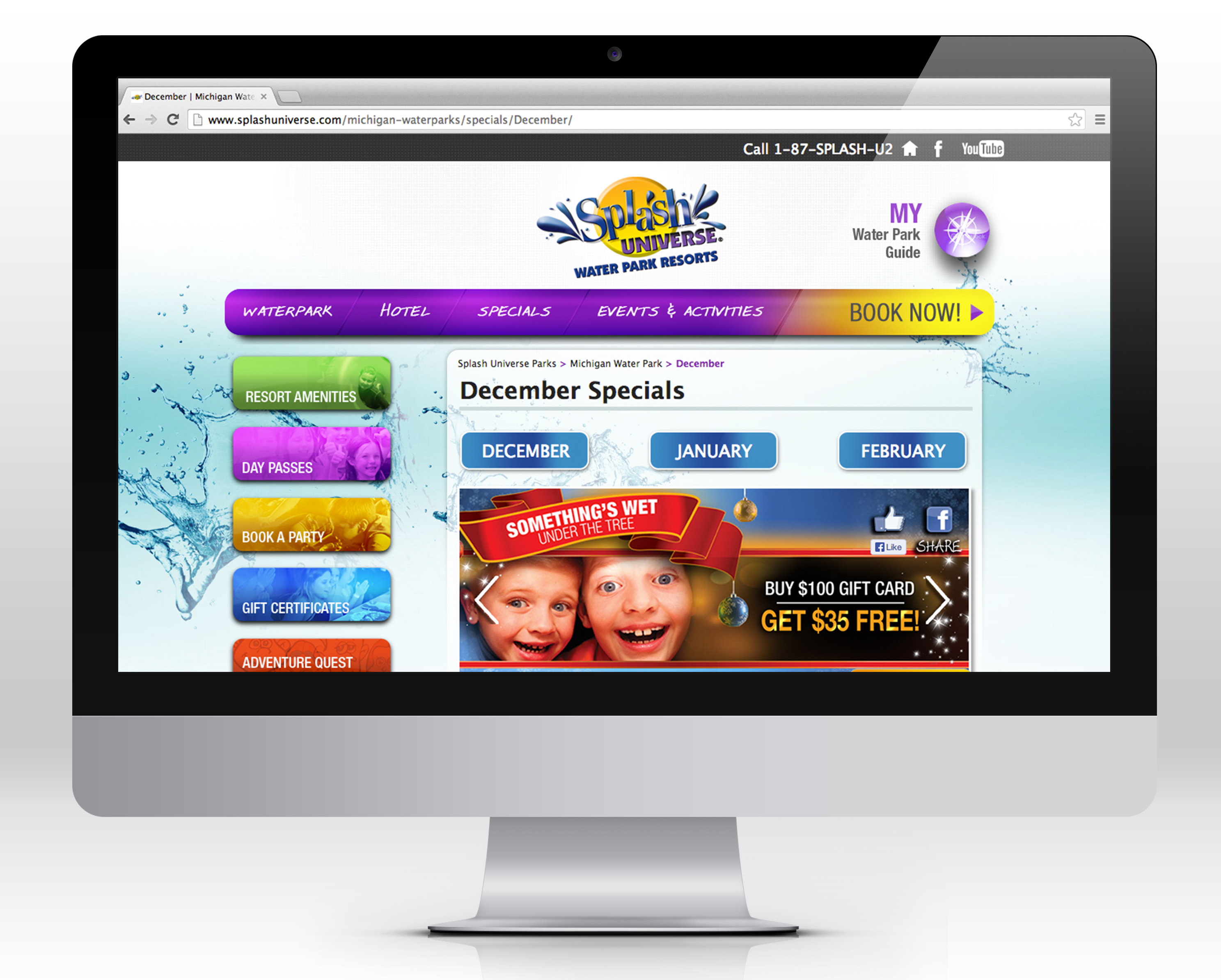 Splash Universe Website Design
