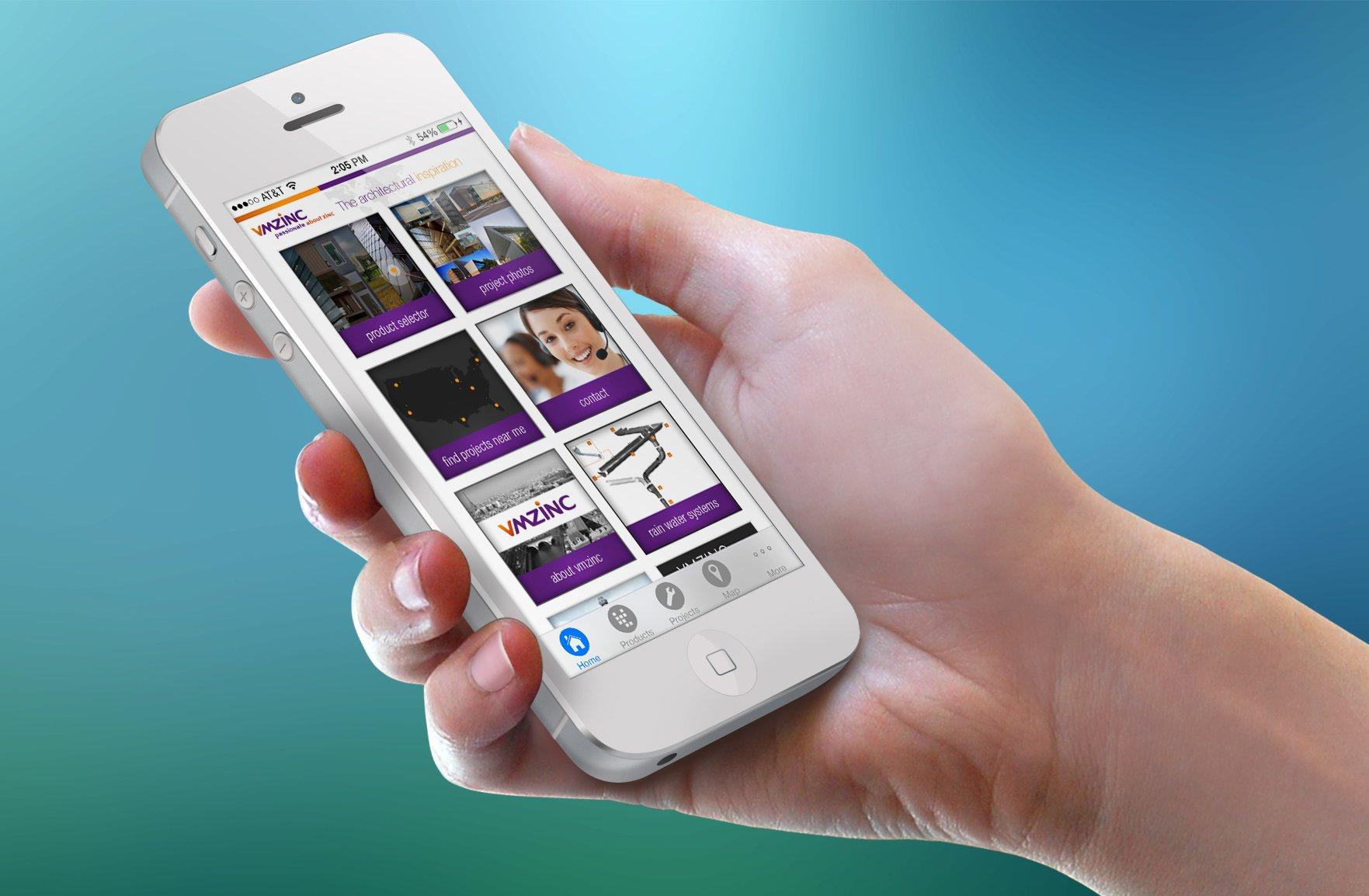 VM Zinc iPhone App