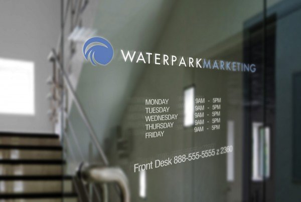 WaterPark Marketing Logo Design