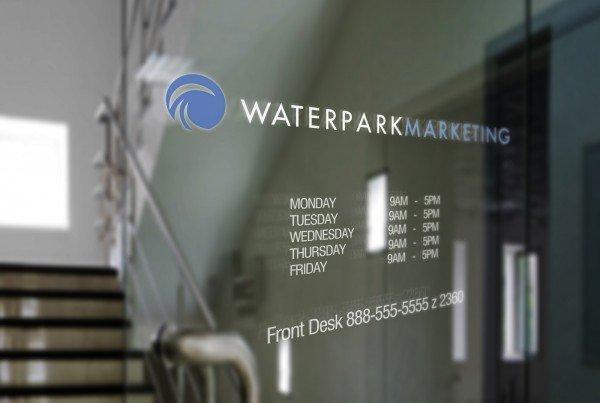 WaterPark Marketing Logo Design