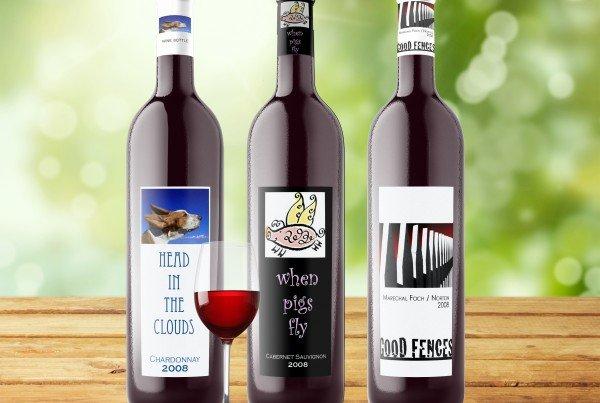 morgan vineyards wine bottle designs