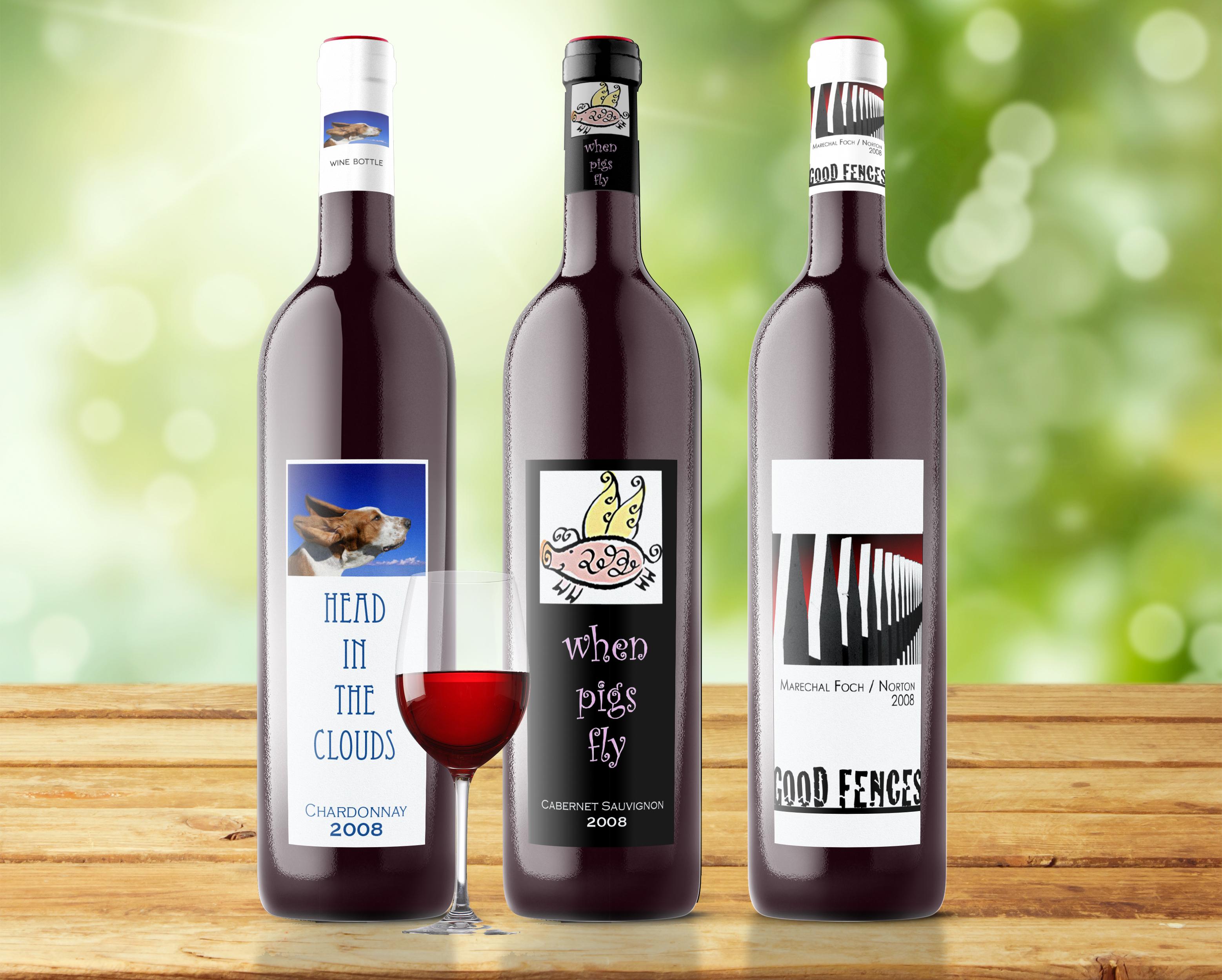 Graphic Design For Wine Bottles Portfolio