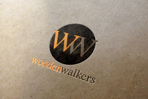 Wooden Walkers Logo Design