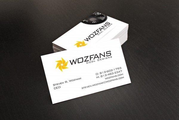 Woz Fans Business Card Design