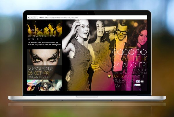 eluminate creative website development